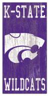 "Kansas State Wildcats 6"" x 12"" Heritage Logo Sign"