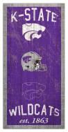 "Kansas State Wildcats 6"" x 12"" Heritage Sign"