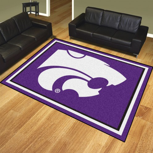 Kansas State Wildcats 8' x 10' Area Rug
