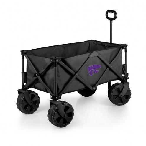 Kansas State Wildcats Adventure Wagon with All-Terrain Wheels