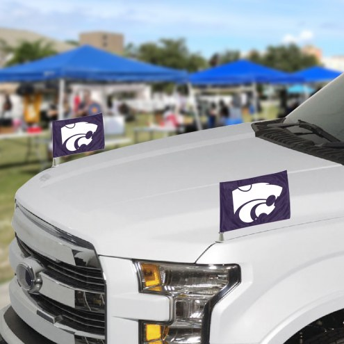 Kansas State Wildcats Ambassador Car Flags