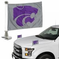 Kansas State Wildcats Ambassador Hood & Trunk Car Flag