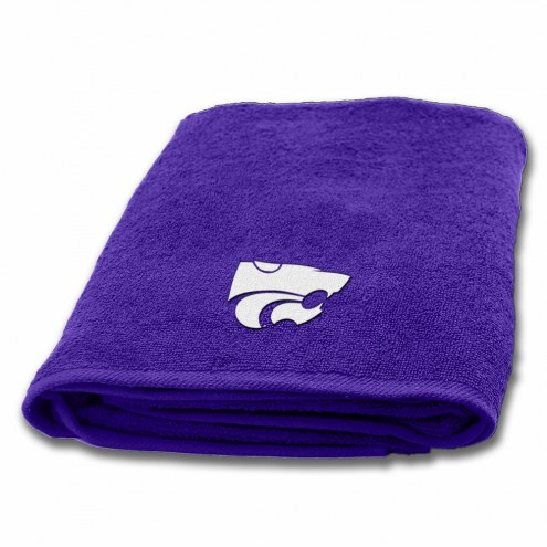 Kansas State Wildcats Applique Bath Towel