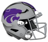 Kansas State Wildcats Authentic Helmet Cutout Sign