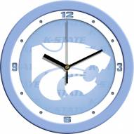 Kansas State Wildcats Baby Blue Wall Clock