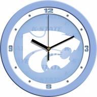 Kansas State Wildcats Baby Blue Wall Clock