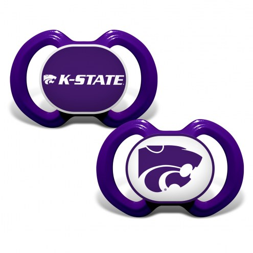 Kansas State Wildcats Baby Pacifier 2-Pack