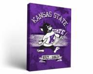 Kansas State Wildcats Banner Canvas Wall Art