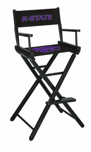 Kansas State Wildcats Bar Height Director's Chair