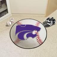 Kansas State Wildcats Baseball Rug