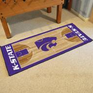 Kansas State Wildcats Basketball Court Runner Rug