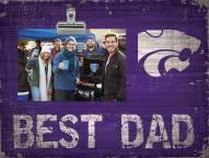 Kansas State Wildcats Best Dad Clip Frame
