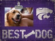 Kansas State Wildcats Best Dog Clip Frame