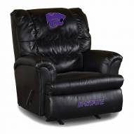 Kansas State Wildcats Big Daddy Leather Recliner