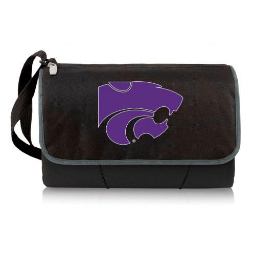 Kansas State Wildcats Black Blanket Tote