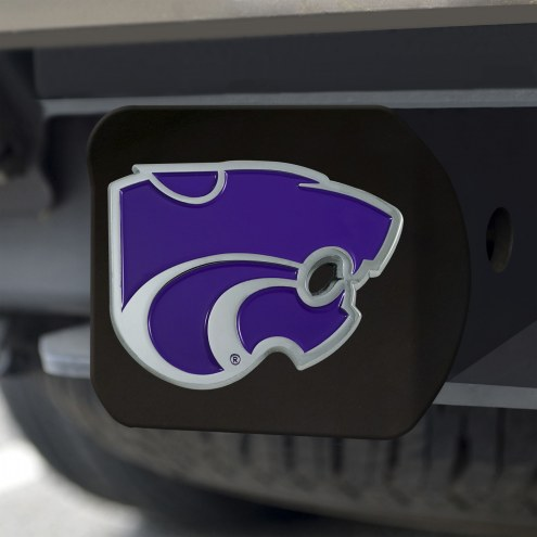 Kansas State Wildcats Black Color Hitch Cover
