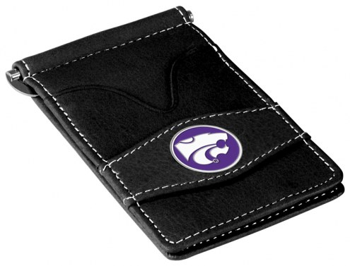 Kansas State Wildcats Black Player's Wallet