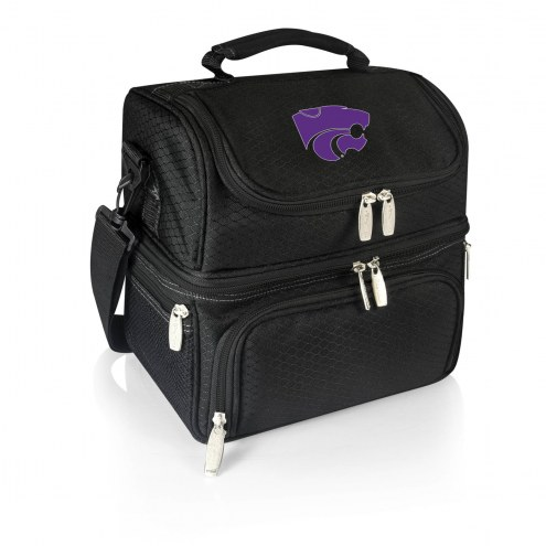 Kansas State Wildcats Black Pranzo Insulated Lunch Box