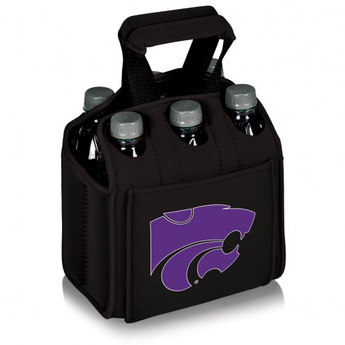 Kansas State Wildcats Black Six Pack Cooler Tote