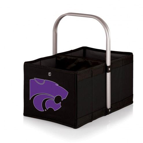 Kansas State Wildcats Black Urban Picnic Basket