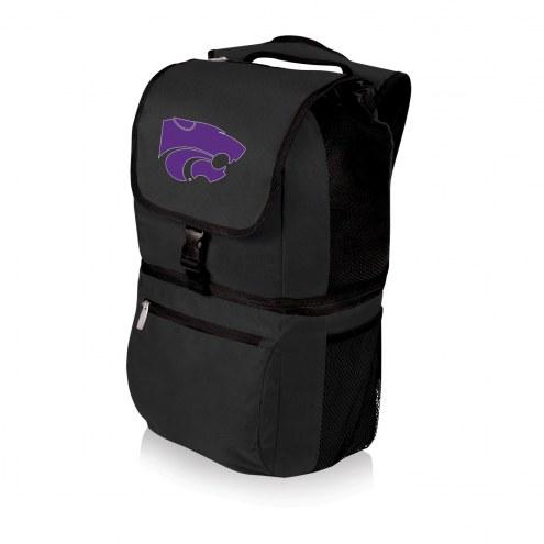 Kansas State Wildcats Black Zuma Cooler Backpack
