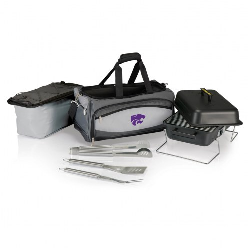 Kansas State Wildcats Buccaneer Grill, Cooler and BBQ Set