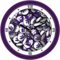 Kansas State Wildcats Candy Wall Clock