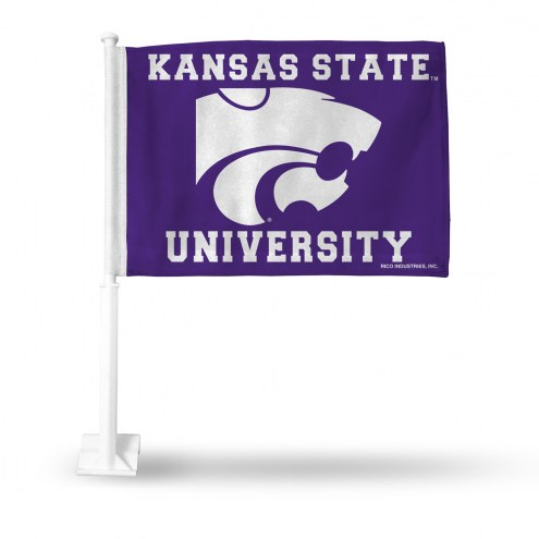 Kansas State Wildcats College Car Flag