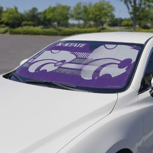 Kansas State Wildcats Car Sun Shade