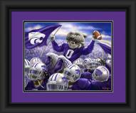 Kansas State Wildcats Celebration Framed Print