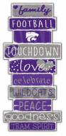 Kansas State Wildcats Celebrations Stack Sign