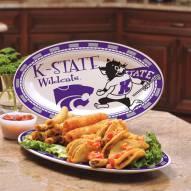 Kansas State Wildcats Ceramic Serving Platter