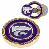 Kansas State Wildcats Challenge Coin with 2 Ball Markers