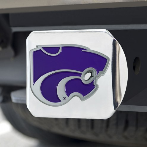 Kansas State Wildcats Chrome Color Hitch Cover