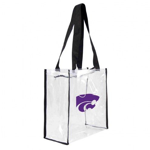Kansas State Wildcats Clear Square Stadium Tote
