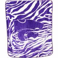 Kansas State Wildcats Raschel Throw Blanket