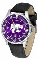 Kansas State Wildcats Competitor AnoChrome Men's Watch - Color Bezel