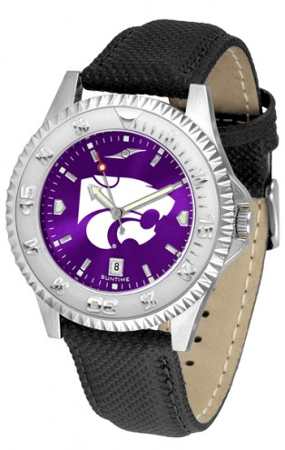 Kansas State Wildcats Competitor AnoChrome Men's Watch