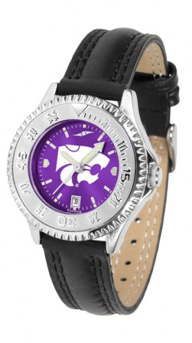 Kansas State Wildcats Competitor AnoChrome Women's Watch