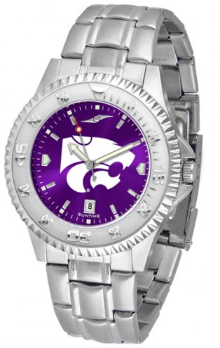 Kansas State Wildcats Competitor Steel AnoChrome Men's Watch
