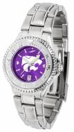 Kansas State Wildcats Competitor Steel AnoChrome Women's Watch