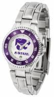 Kansas State Wildcats Competitor Steel Women's Watch