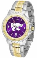 Kansas State Wildcats Competitor Two-Tone AnoChrome Men's Watch