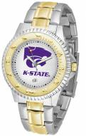 Kansas State Wildcats Competitor Two-Tone Men's Watch