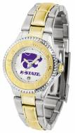 Kansas State Wildcats Competitor Two-Tone Women's Watch