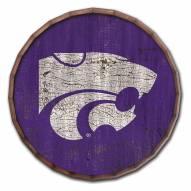"Kansas State Wildcats Cracked Color 16"" Barrel Top"