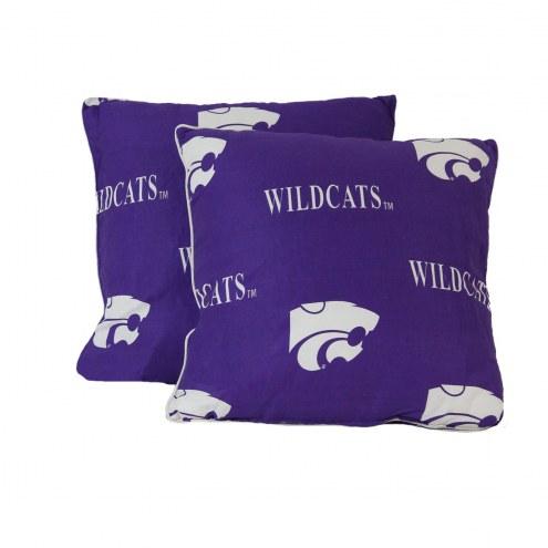 Kansas State Wildcats Decorative Pillow Set