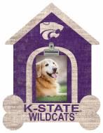 Kansas State Wildcats Dog Bone House Clip Frame