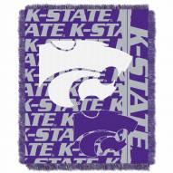 Kansas State Wildcats Double Play Woven Throw Blanket