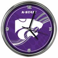 Kansas State Wildcats Dynamic Chrome Clock